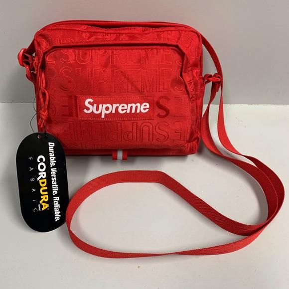 Supreme SS19 shoulder bag new. M 5c809e858ad2f9de20464926 a3cb3e84a438f